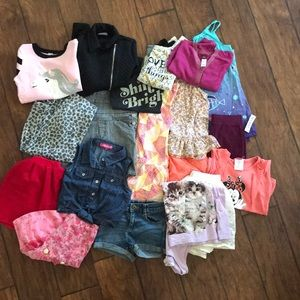 Girls clothing lot 20 pieces size 5/6